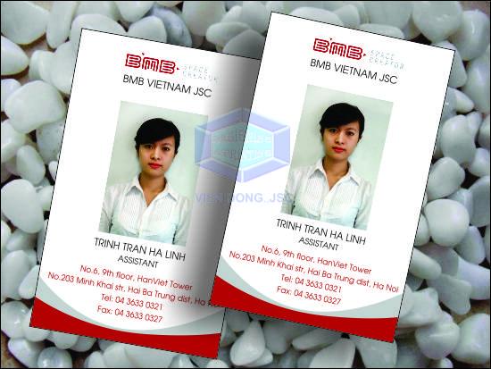 In thẻ nhân viên thiết kế miễn phí , giá rẻ tại Hà Nội | IN THẺ NHỰA GIÁ RẺ, LẤY NGAY SAU 05 PHÚT | in the, in the
