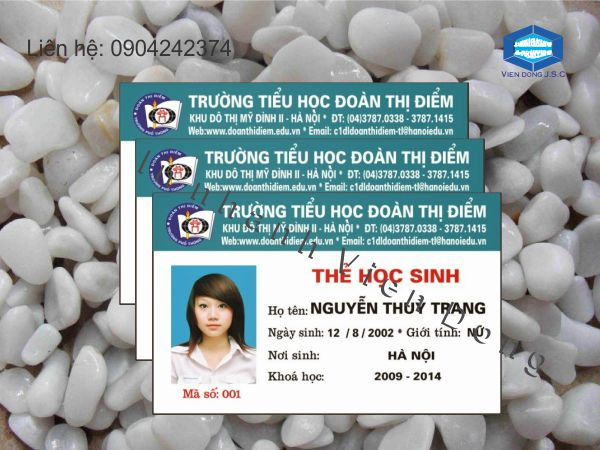 In thẻ học sinh nhanh Hà Nội | In thẻ giáo viên lấy nhanh tại Hà Nội | In the, in the nhua, in the nhan vien, in the nhan vien, in the gia re tai Ha Noi