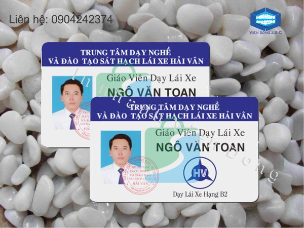 In thẻ giáo viên giá rẻ tại Hà Nội | In name Card lấy ngay  | In the, in the nhua, in the nhan vien, in the nhan vien, in the gia re tai Ha Noi