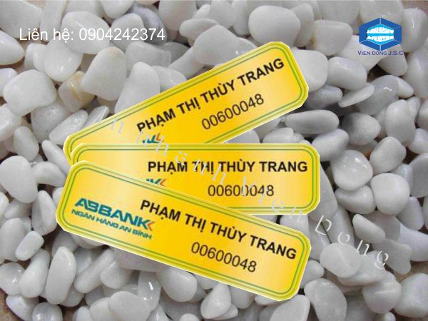 In thẻ chức danh | In name Card lấy nhanh | In the, in the nhua, in the nhan vien, in the nhan vien, in the gia re tai Ha Noi