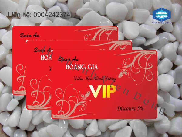 In thẻ V.I.P Card  | In the, in the nhua, in the nhan vien, in the nhan vien, in the gia re tai Ha Noi
