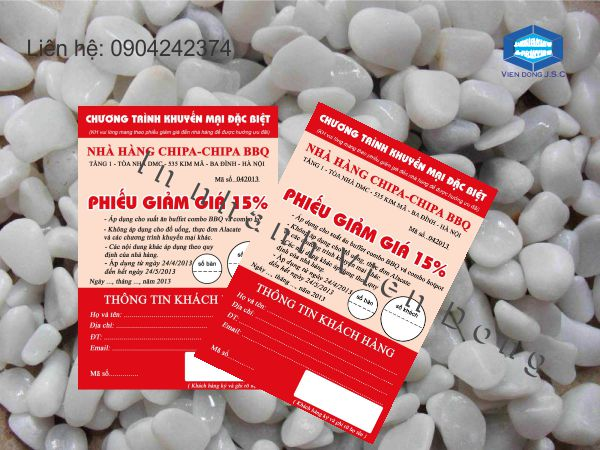 In thẻ giảm giá lấy ngay tại Hà Nội | In name Card lấy ngay  | In the, in the nhua, in the nhan vien, in the nhan vien, in the gia re tai Ha Noi