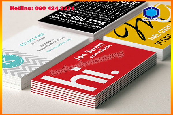 General Procedure for Printing Business Card | In name Card lấy ngay  | In the, in the nhua, in the nhan vien, in the nhan vien, in the gia re tai Ha Noi